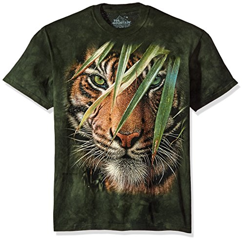 (The Mountain Men's Emerald Forest Tee, Green, Small)
