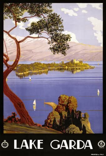 33 x 24 A1 841 x 610mm TW73 Vintage 1920s French Route Des Alpes France Travel Poster Re-Print