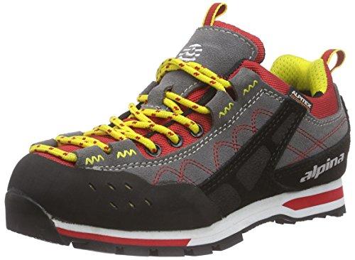 Adulte Randonnée Rouge Chaussures Alpina Rot 680273 Mixte de Red Black w6vXS