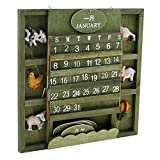 Homyl Animal Decorative Advent Calendars January to December DIY Manual Calendars