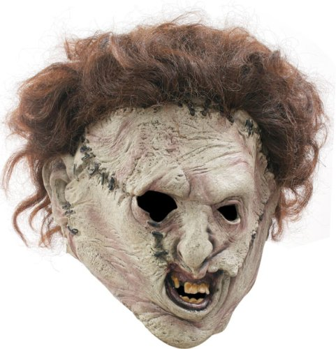 Leatherface Mask (Leatherface 3/4 Mask Costume)