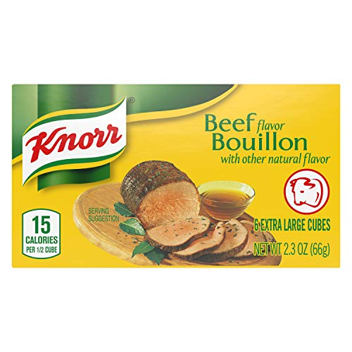 Knorr Cube Bouillon, Beef, 2.3 oz, 6 count (Pack of 1)
