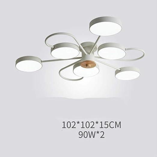 WSYYWD Lámpara LED Lámpara de techo para dormitorio Moderna ...
