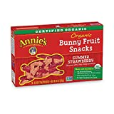 Annie's Organic Bunny Fruit Snacks, Summer Strawberry, 5 Pouches Review