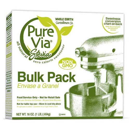 Equal Pure Via Stevia Sweetener, 16 Ounce -- 4 per case.