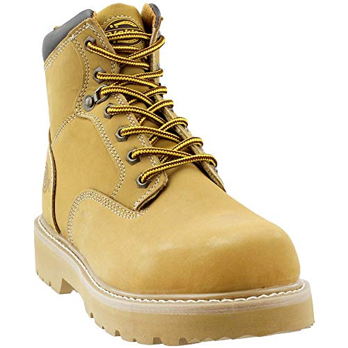 Boots Safety Dickies - Dickies Men's Ranger Work Boot,Wheat,10.5 M US