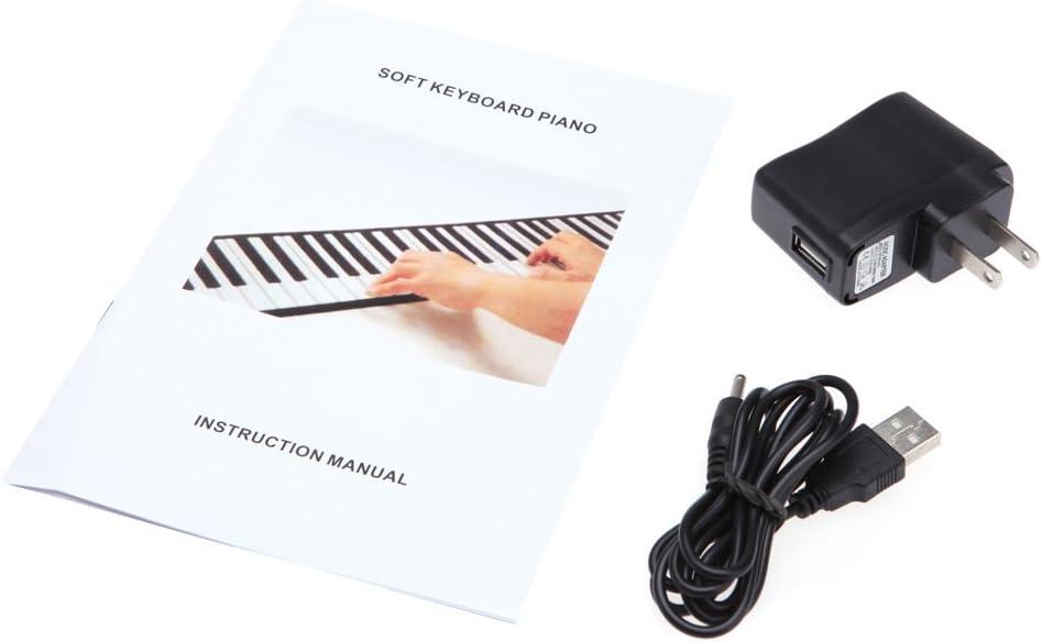 Andoer® Teclado Electronico Portátil Flexible Rueda para Arriba de ...