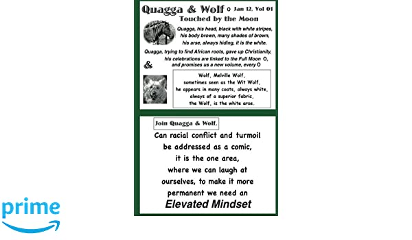 Quagga & Wolf: Under the Full Moon (Volume 1): Mr Cedric