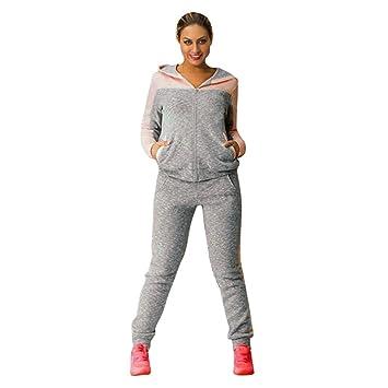 3ada8824 HARRYSTORE Women Fleece Sports Tracksuits Two Piece Set Sweatpants Hooded  Sweatshirt Suits Women Lounge Wear Tracksuits