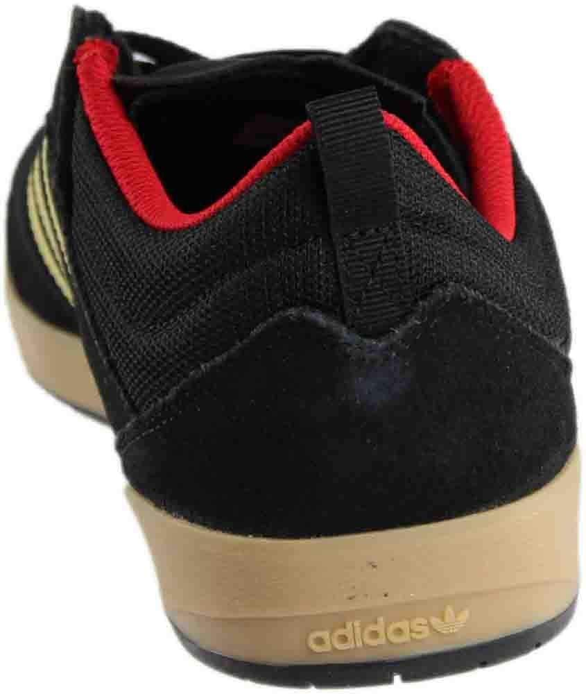 fc682080f3f8d adidas Suciu ADV Core Black/Gold Foil/Gum Skate Shoes