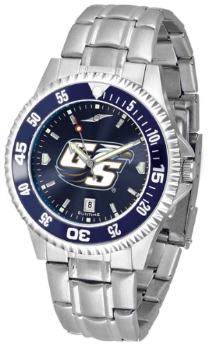 Eagles Competitor Watch (Georgia Southern Eagles Competitor Steel AnoChrome Color Bezel Men's Watch)