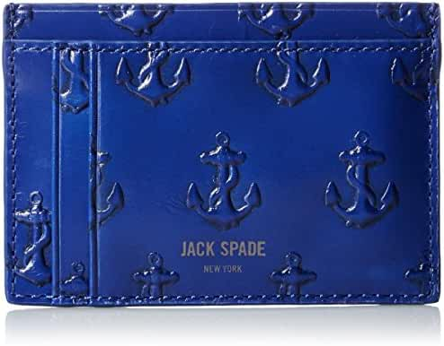 Jack Spade Men's Embossed Anchor ID Wallet