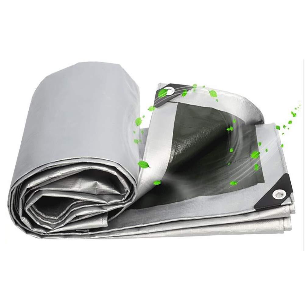 HYWJB Plane wasserdicht Sunscreen Zelt Polyethylen Polyethylen Polyethylen Versilberung Plastiktuch Truck Trap 180G   M² B07HYWSP7P Kuppelzelte Ausgezeichnetes Handwerk 5e8882