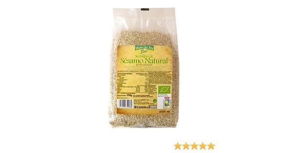 Hijas Del Sol Bio Semillas De Sésamo Natural - 350 gr - [Pack de 5]: Amazon.es: Alimentación y bebidas