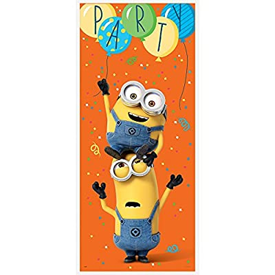Plastic Despicable Me Minions Door Poster: Toys & Games