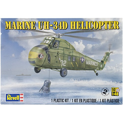 Revell Marine UH-34d Helicopter sk2