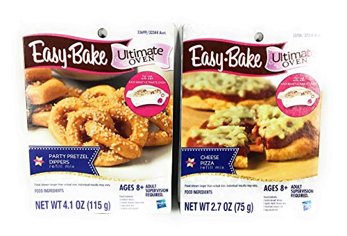 easy bake oven mixes pack pizza - 2