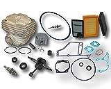 MowerPartsGroup Stihl TS400 Concrete Saw Rebuild Kit Cylinder Crankshaft Belt Filters Gaskets Spark Plug