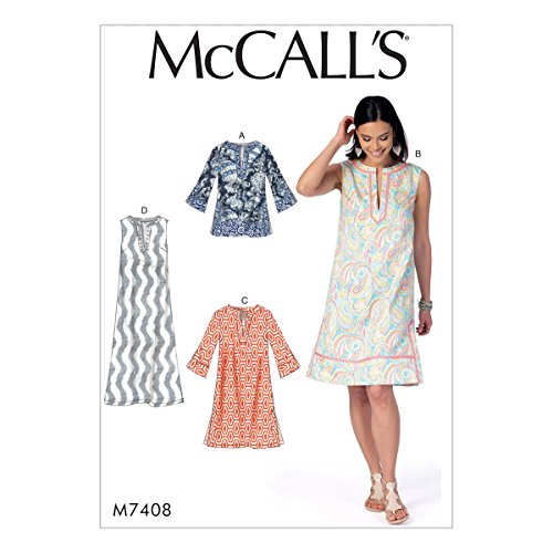 - McCall's Patterns M74080Y0 Misses Tunic and Dress