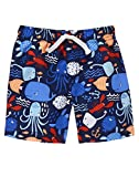 Gymboree Baby Toddler Boys' Sea Print Swim, Multi, 6-12