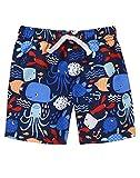 Gymboree Baby Toddler Boys' Sea Print Swim, Multi, 6-12