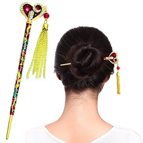 - Fashion & Lifestyle Hair Style Decor Hair Sticks Shawl Pins Picks Pics Forks for Women Girls Hair Accessory 6
