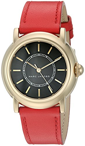Marc Jacobs Women's Courtney Blue Leather Watch - MJ1452