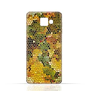 Samsung Galaxy C9 Pro TPU Silicone Case with Stained Glass Art