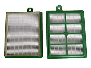 vhbw-Allergie filtro HEPA de repuesto Set AEG System Pro p907, P908, P909, P91, P910, P911, P912, P913, P914, P915, P916, P917, P918como AEF 12, H12.