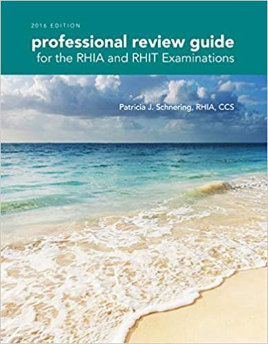 Second Quarter 2015 Bsea Commentary By >> Professional Review Guide For The Rhia And Rhit Examinations 2016