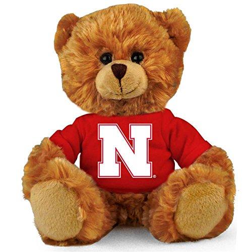 (Nebraska Cornhuskers 8'' Plush Hoodie Bear)