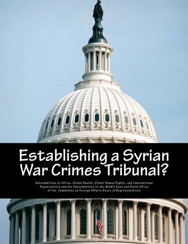 Establishing a Syrian War Crimes Tribunal? ebook