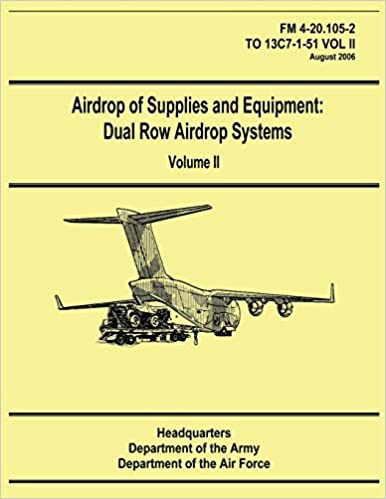 Airdrop of Supplies and Equipment: Dual Row Airdrop Systems - Volume II (FM 4-20.105-2 / TO 13C7-1-51 VOL II)