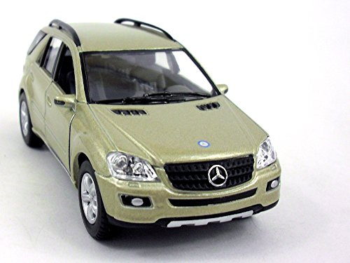 Mercedes-Benz ML-350 1/36 Scale Diecast Metal Model - GOLD