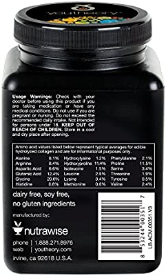 Youtheory Men's Collagen Advanced with Biotin, 290 Count (1 Bottle)