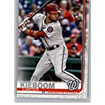 #US109 Carter Kieboom RC Rookie Washington Nationals Official Baseball Trading Card 2019 Topps Update Series 3
