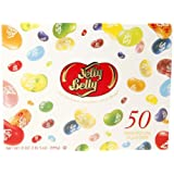 Jelly Belly Gourmet Jelly Beans Gold Classic Gift Box, 50 Flavors 21 oz (Pack of 1)