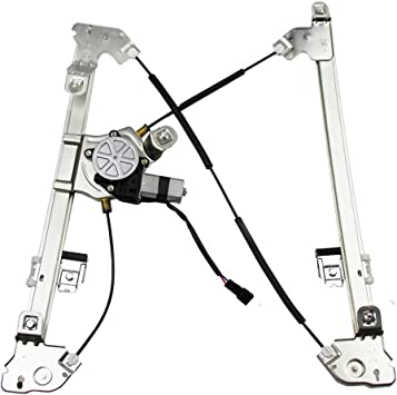 Amazon Com Power Window Regulator With Motor Assembly Passengers Front Replacement Fit For 04 08 Ford F 150 06 08 Lincoln Mark Lt Automotive