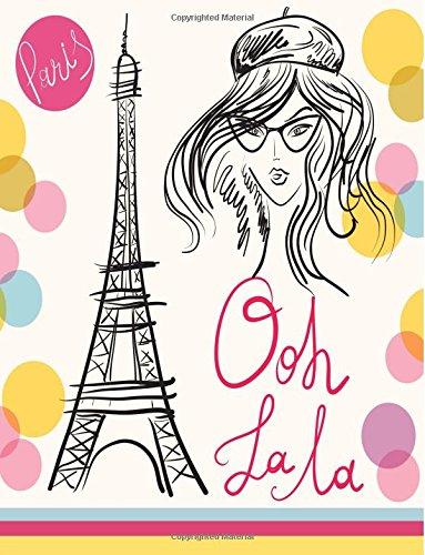 Paris Ooh La La: Notebook (Composition Book, Journal) (8.5 x 11 Large)
