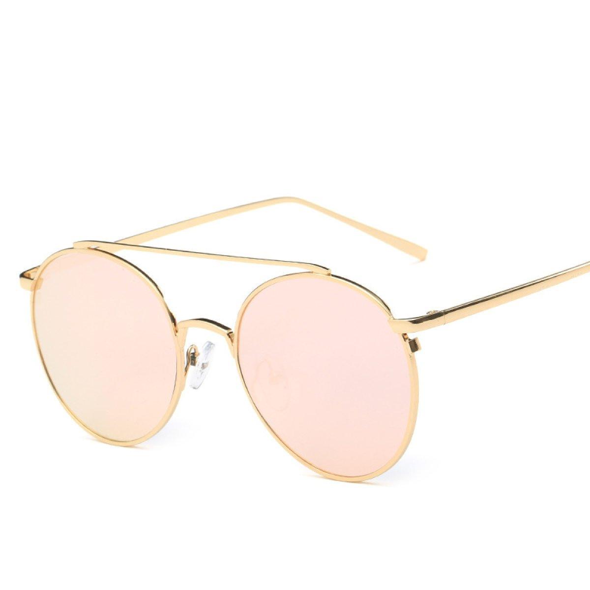 Retro Sonnenbrille Runde Prinz Spiegel Farbe Reflektierende Männer Und Frauen Sonnenbrillen Sonnenbrillen,A3