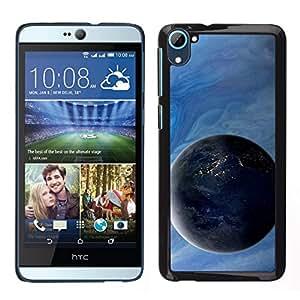 EJOY---Cubierta de la caja de protección para la piel dura ** HTC Desire D826 ** --Gas gigante Planetas Arte Ver Universo Espacio Cosmos