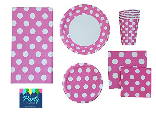 polka dot party supplies - 5