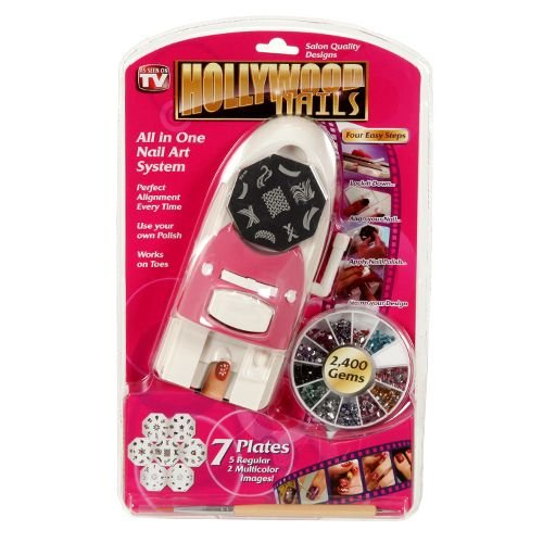 Hollywood Nails All in One Nail Art System