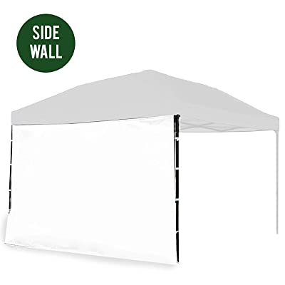 Punchau Canopy Sidewall Kit - Sidewalls for Pop Up Canopy Tent, 10 x 10 Feet - with or Without Door - 5 Colors to Choose from! (Sidewall Attachment, White - Sidewall) : Garden & Outdoor