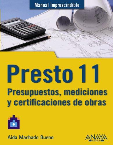 Leer libro presto 11 presupuestos mediciones y - Presupuestos de obras ...