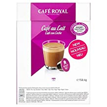 Cafe Royal Cafe au Lait Dolce Gusto Compatible Coffee Pods - 16 per pack
