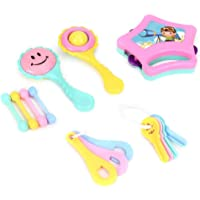 Jaynil® Musical Best Rattle Sound Set of 6 Pieces Toy Set for New Born Babies
