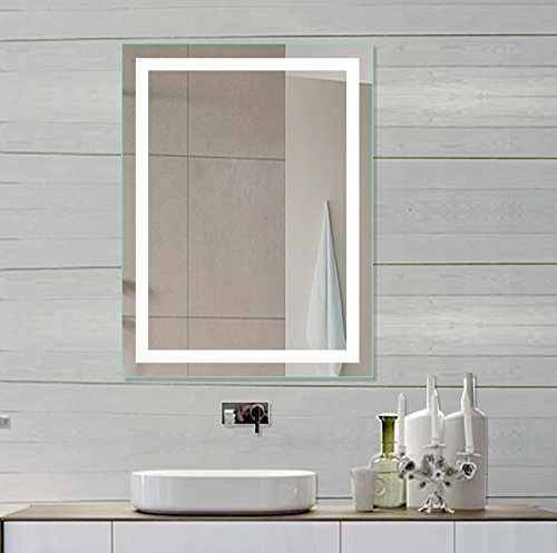 Lighted LED vanity Mirror Harmony 24 X 32 In by IB MIRROR by IB Mirror by IB Mirror