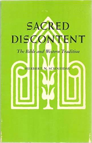 Book Sacred Discontent: The Bible and Western Tradition