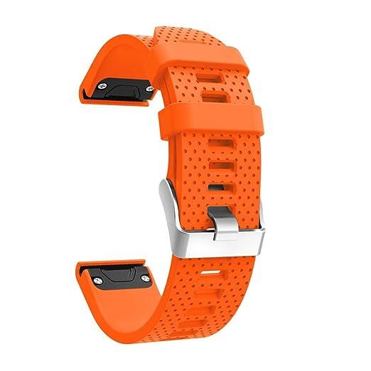 Reloj suave de silicona de repuesto Correa de banda de kit de liberación rápida Xinan Para